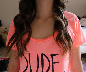 dude, girl, and hair image