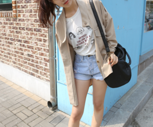 casual, outfit, and shorts image