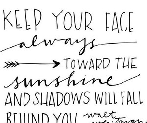 quote, sunshine, and shadow image