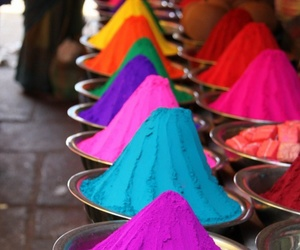 colors, colorful, and india image