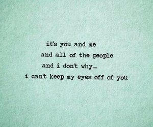 quotes, love, and you and me image