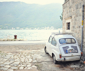car, kotor, and photography image