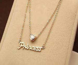 princess, accessories, and necklace image