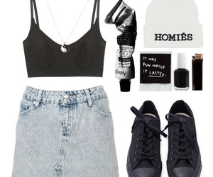 awesome, beanie, and black image
