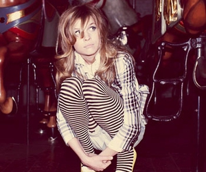 stripes, girl, and clemence poesy image