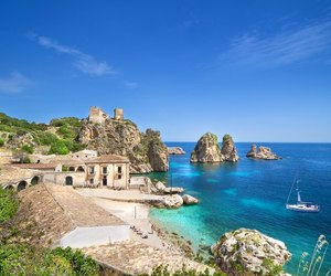 sicily, italy, and sea image