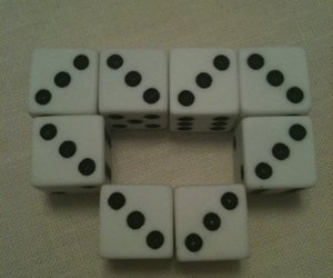 heart, dice, and cute image