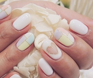 manicure, nails, and nice image