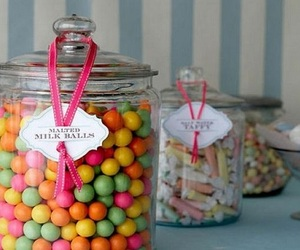 candy, sweet, and jar image