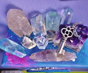 crystal and key image
