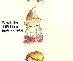 a very potter musical and hufflepuff image