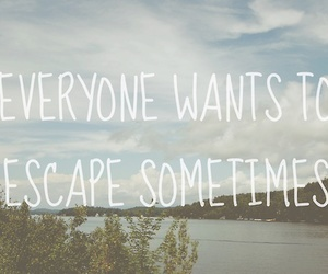 escape, quote, and text image