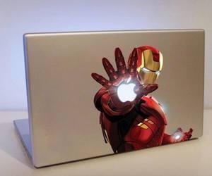 iron man, apple, and mac image
