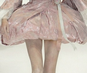 Alexander McQueen, detail, and dress image