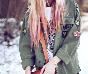 hair, hipster, and grunge image