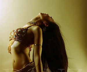 asian, bellydance, and dancer image