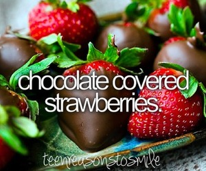 strawberry, chocolate, and style image
