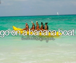 amazing, banana, and beach image