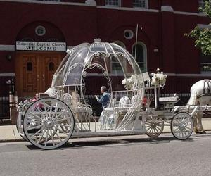 carriage and wedding carriage image