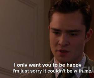 gossip girl, chuck bass, and happy image