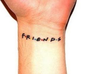 friends, tattoo, and f.r.i.e.n.d.s image