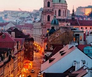 city, prague, and travel image