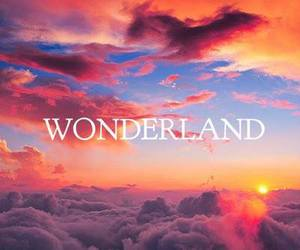 clouds, land, and paradise image