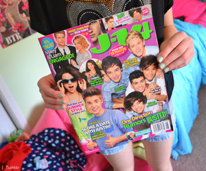 magazine and one direction image
