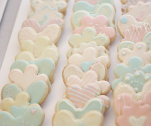 pastel, Cookies, and cute image