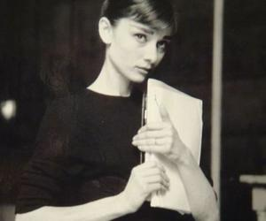 audrey hepburn, classy, and black and white image