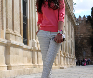 beige, blogger, and blouse image
