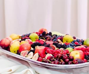 dessert, fruit, and catering image