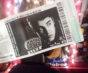 concert, ticket, and believe tour image