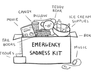 sadness, emergency, and music image