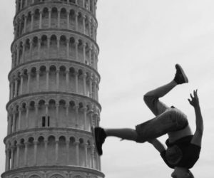 italy, Pisa, and black and white image