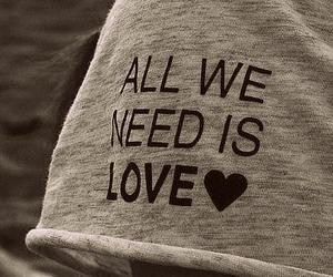 love, text, and need image