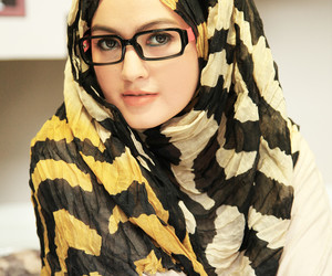 hijab, girl, and pretty image