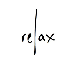 relax, quotes, and text image