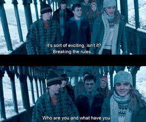 harry potter, hermione granger, and neville longbottom image