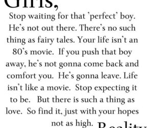 girl, reality, and quotes image