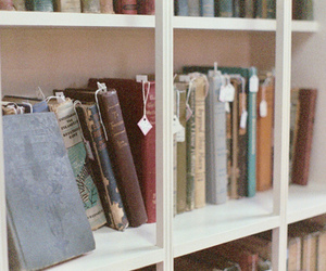 beautiful, old, and books image