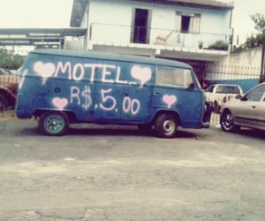 $, hippie, and motel image