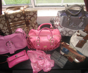 bags, coach, and designer image