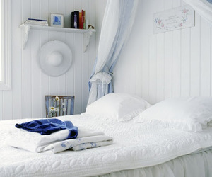 bed, bedroom, and chairs image