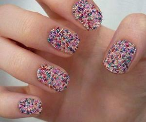 icecream, pink, and nails image