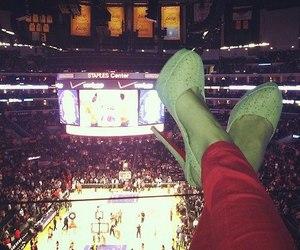 fashion, Basketball, and girl image