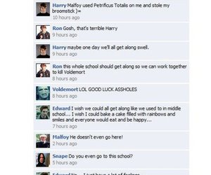 harry potter, mean girls, and funny image