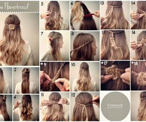 diy, hair tutorial, and hair clip murah dan bagus image