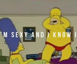 sexy, simpsons, and homer image