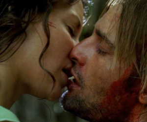 james ford, sawyer lost, and kiss image